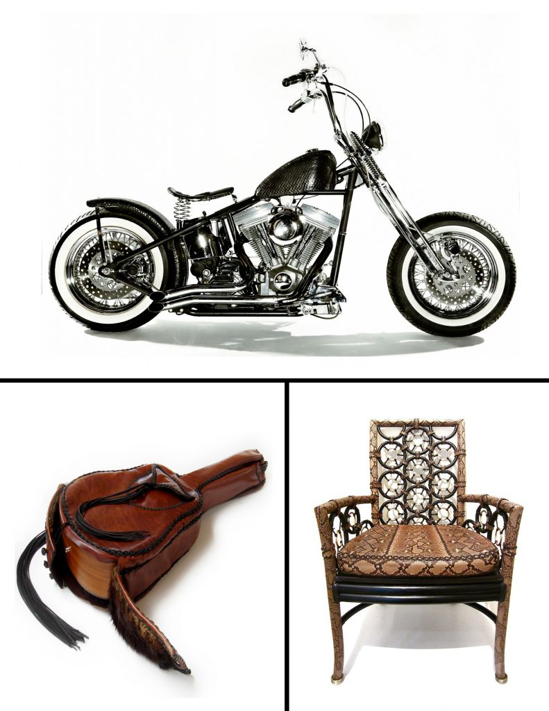 RockStar Lifestyle Motorcycles-Furniture-Leather-Guitar-cases-by-Lost-Art